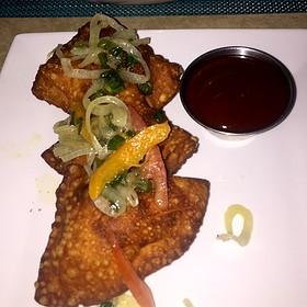 Pork Empanadas & Guava Bbq Sauce