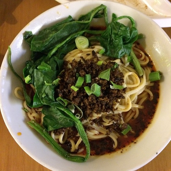 Dan Dan Noodles @ Chilli Cool