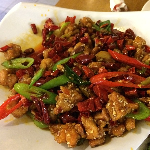 Chong Qing Spicy Chicken @ Chilli Cool