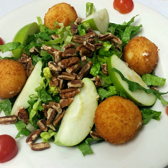 Goat Cheese Fritter & Apple Salad @ Houndstooth Pub