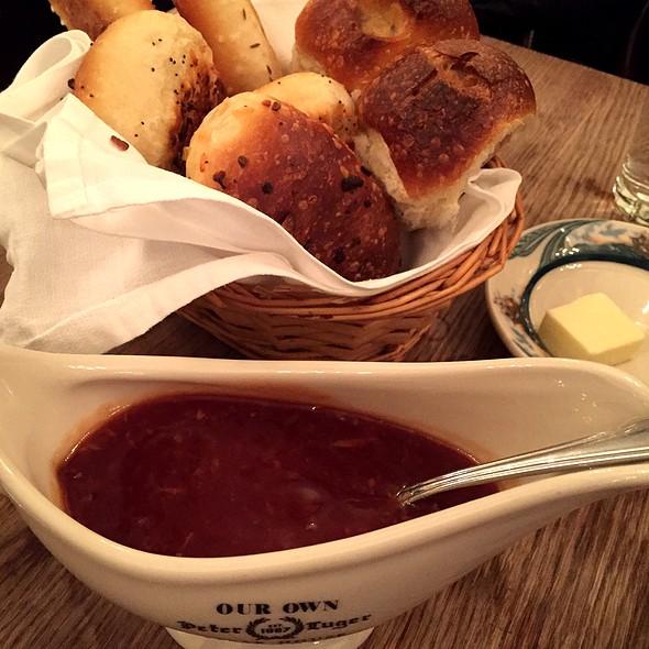 Bread Basket @ Peter Luger Steakhouse