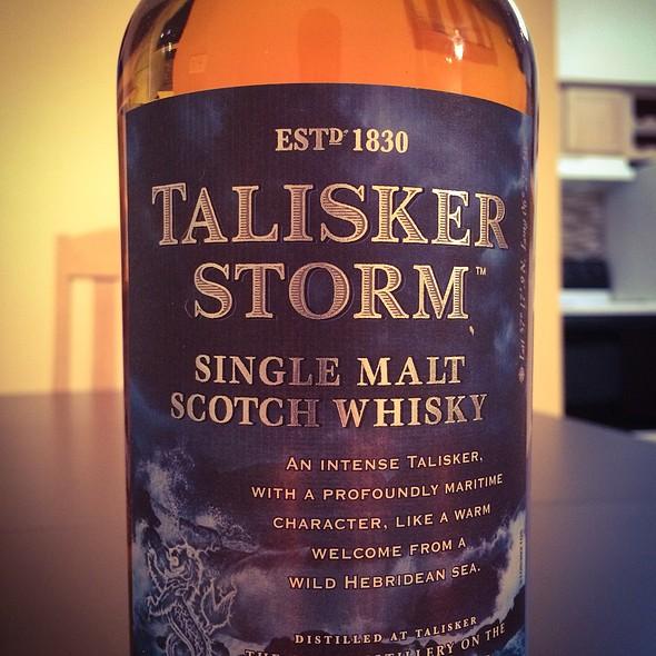 Talisker Storm - Single Malt Scotch Whisky @ Downtown Charleston