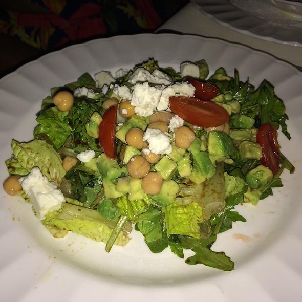 Romaine And Arugula Salad - Blanchard's, Meads Bay, Anguilla