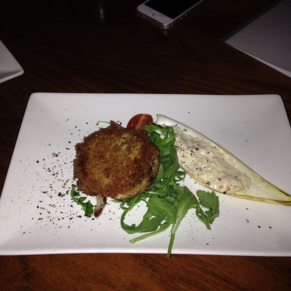 crab cake - Bar Italia, Toronto, ON