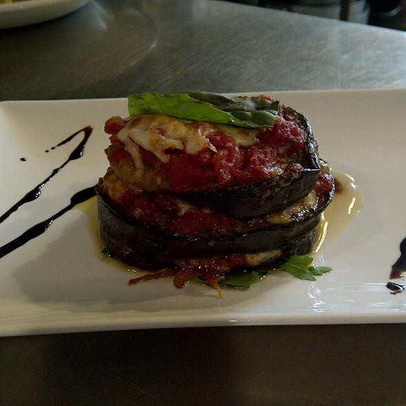 Eggplant Parmigiana - Bar Italia, Toronto, ON