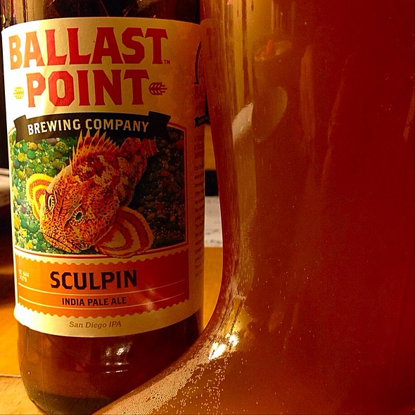 Ballast Point Sculpin Ipa @ Worcester,Ma