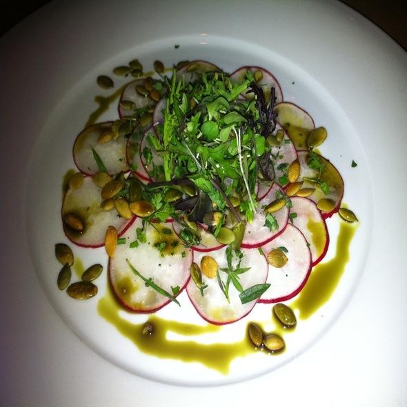 Shaved Radish Salad @ Grüner Restaurant