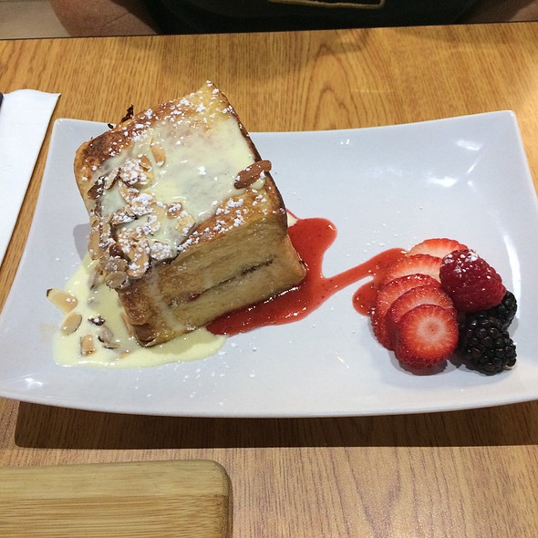 Stuffed French Toast with Fresh Berries @ Scratch Kitchen And Bake Shop