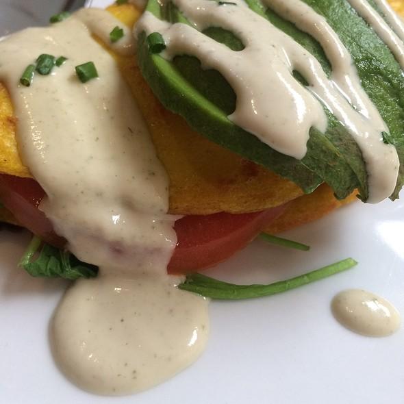 Vegan Omelette @ Suncafe Organic