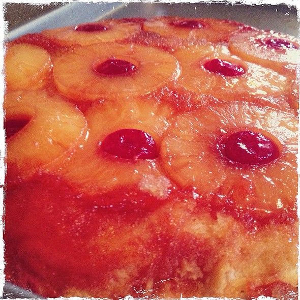 pineapple upside-down cake @ Worcester,Ma