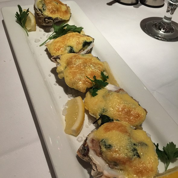 Oysters Rockefeller - Cape Cod, Chicago, IL