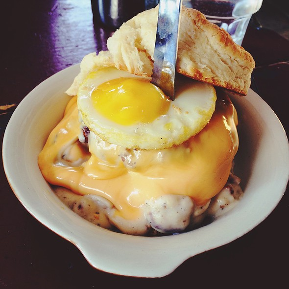 Breakfast Sandwich With Pork Neck Sausage @ Icehouse