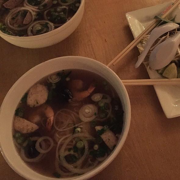 Seafood pho @ Ngon Vietnamese Bistro