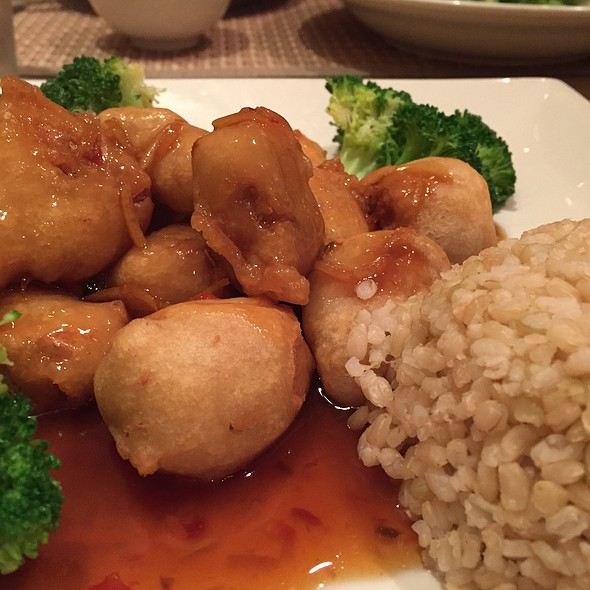 Orange Imagination @ Green Earth Vegan Cuisine