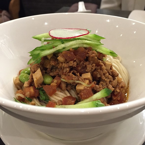 Minced Pork Noodles @ Ding Tai Fung