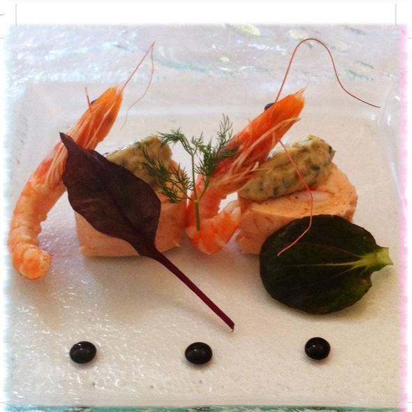 Roulade De Saumon Et Crevettes @ De la Gare