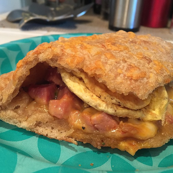 Ham And Cheese Breakfast Pocket @ Home