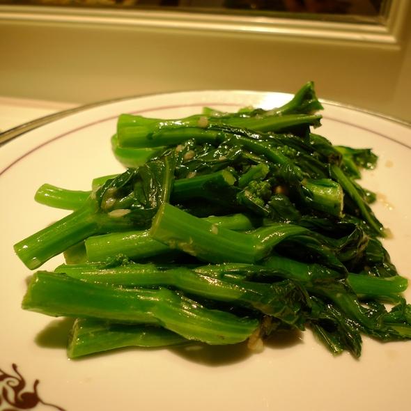 Stir Fry Vegetable With Garlic @ The Peninsula Hong Kong