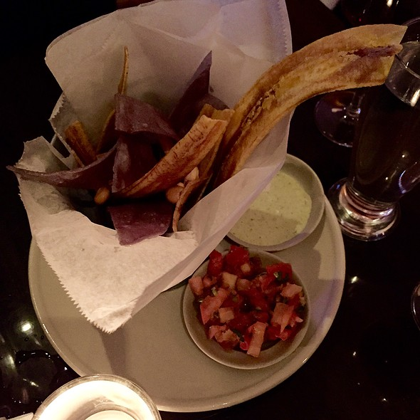 Plantain And Tortilla Chips - Surfish Bistro, Brooklyn, NY