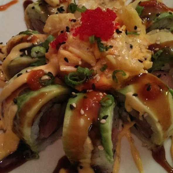 Volcano Roll @ Chopstix Cafe