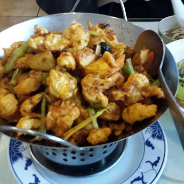 Chicken In Hot Pot