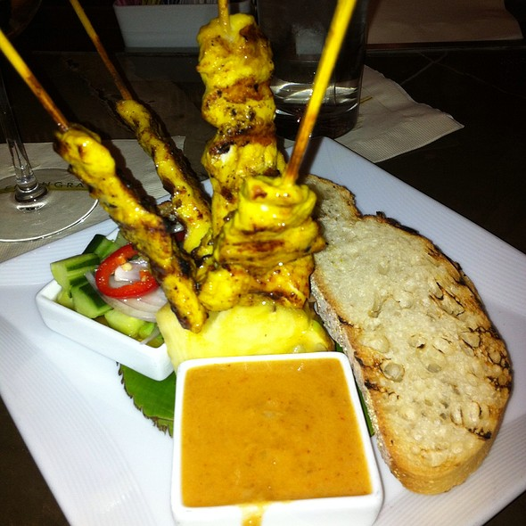Chicken satay - Lemongrass - Aria, Las Vegas, NV