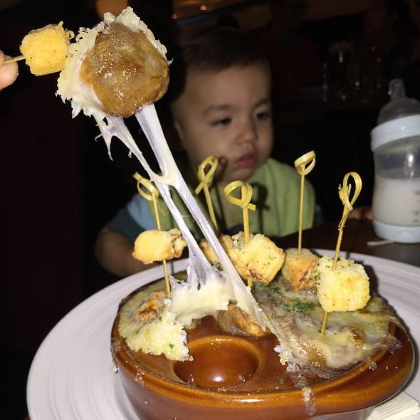 French Onion Soup Dumplings @ Stanton Social