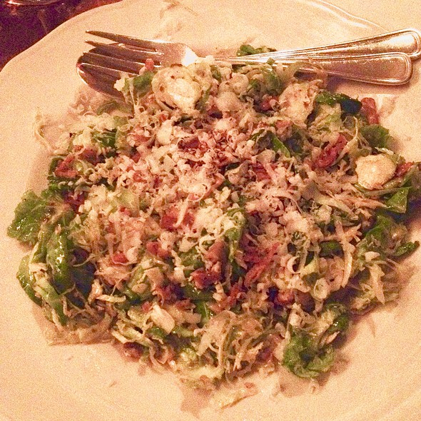 Brussels Sprouts Salad - Il Buco, New York, NY