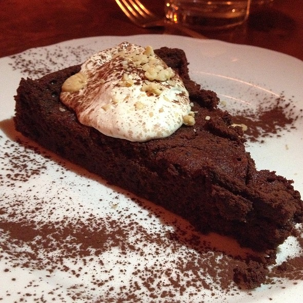 Chocolate Cake - Il Buco, New York, NY