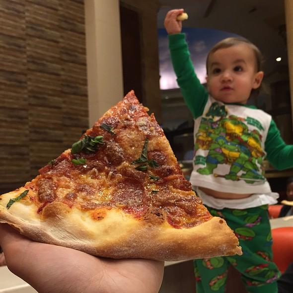 Pepperoni Pizza @ Di Fara Pizza
