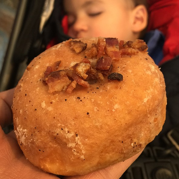 Maple Bacon Doughnut @ O Face Doughnuts