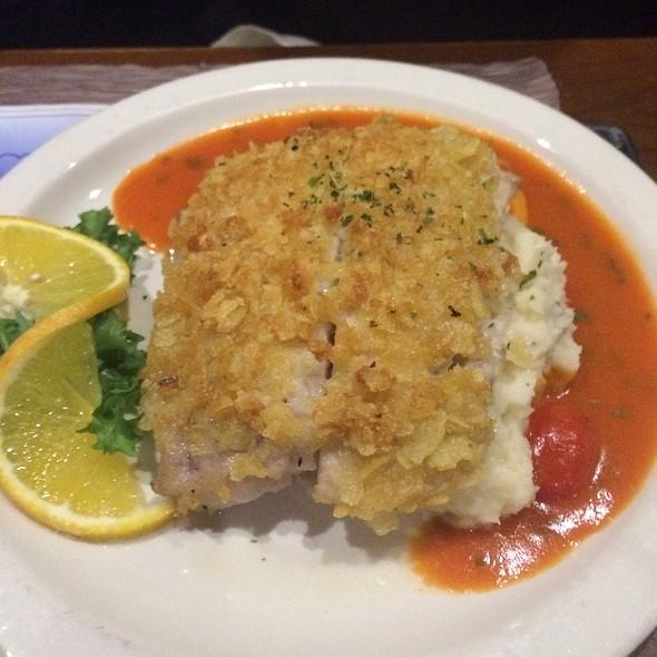 Potato Crusted Tilefish