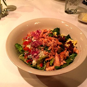 Smoked Salmon Cobb Salad - The Metro Wine Bar & Bistro, Oklahoma City, OK
