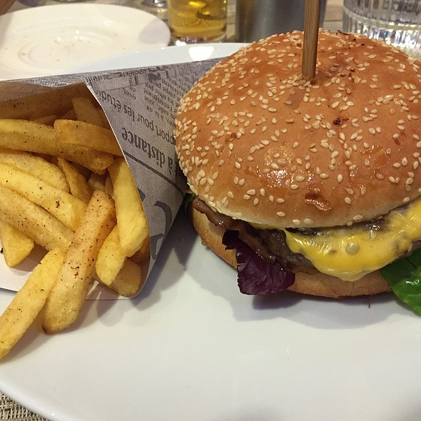 Burger @ Hotel Novotel Amsterdam City