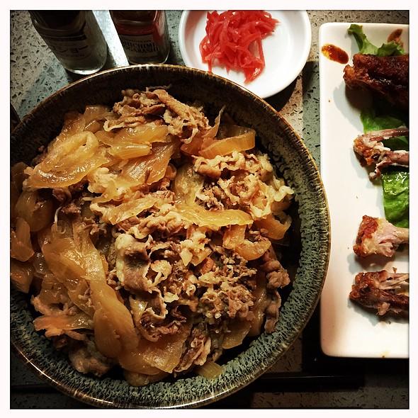 Gyudon Rice Bowl
