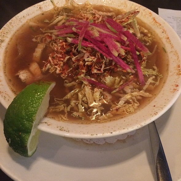 Wood Roasted Chicken Pozole @ Xoco