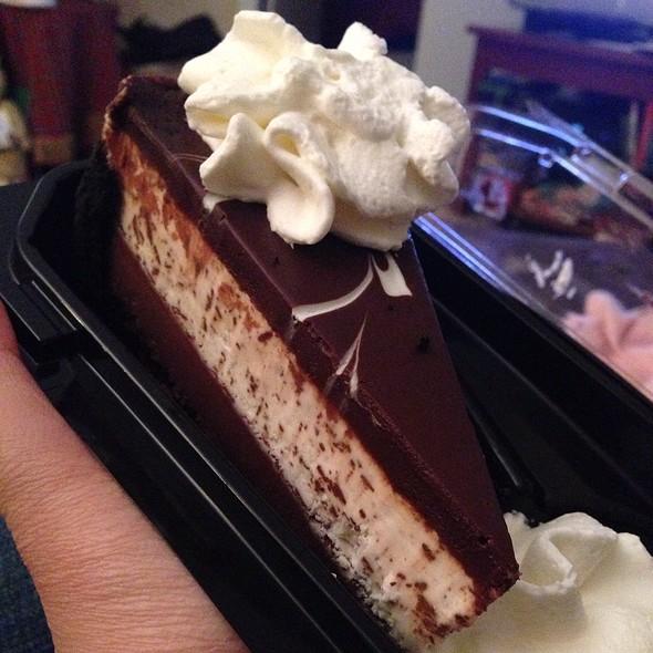 Chocolate Tuxedo Cheesecake