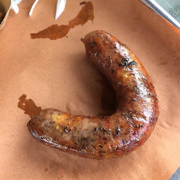 Jalapeno Cheddar Sausage @ Pecan Lodge