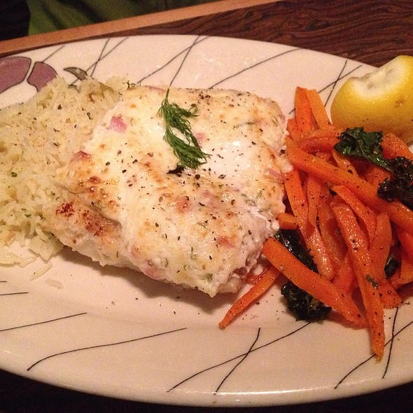 Pan Roasted Wild Alaskan Cod @ Anthony's Seafood Grill