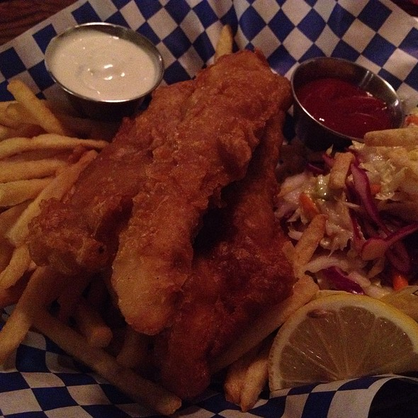 Ling Cod Fish And Chips @ Anthony's Seafood Grill