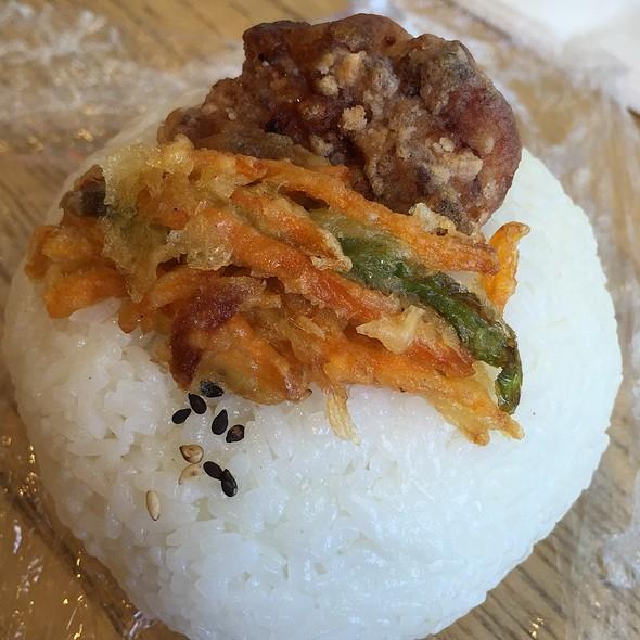 Teryaki Chicken Rice Ball @ Hachi Hachi