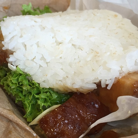Pork Belly Sushi Burger @ Hachi Hachi