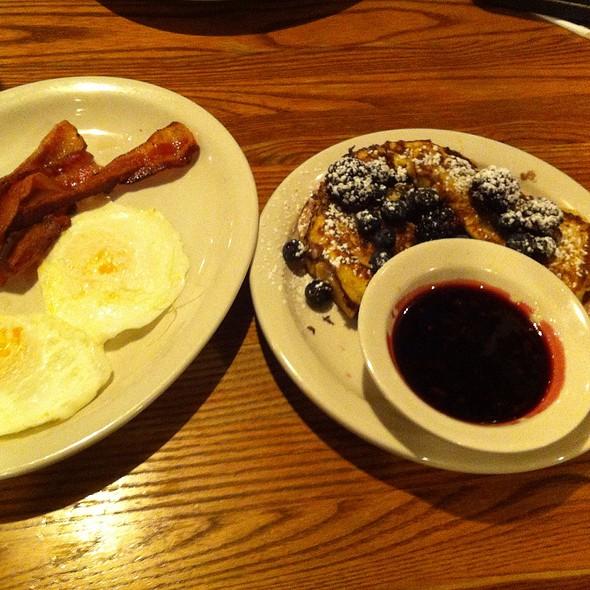 Triple Berry Stuffed French Toast Breakfast @ Cracker Barrel Old Country Str