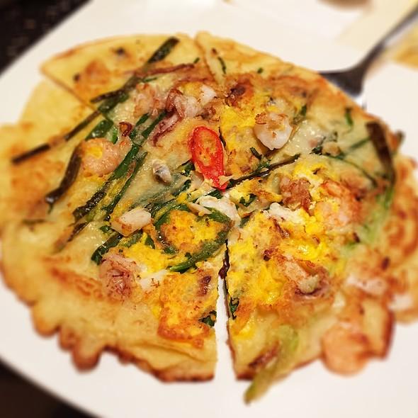 Seafood Pancake @ Myung Ga Korean Restaurant