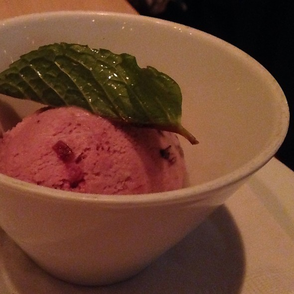 Cherry Gelato (One Scoop) - Cowell & Hubbard, Cleveland, OH