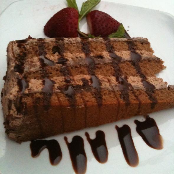 Chocolate Pistachio Cake - Istanbul Cafe, Indianapolis, IN