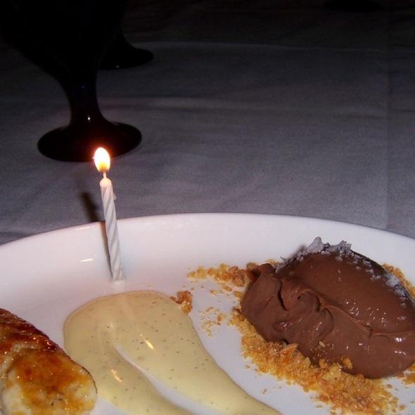 Dessert Trio @ Zelo