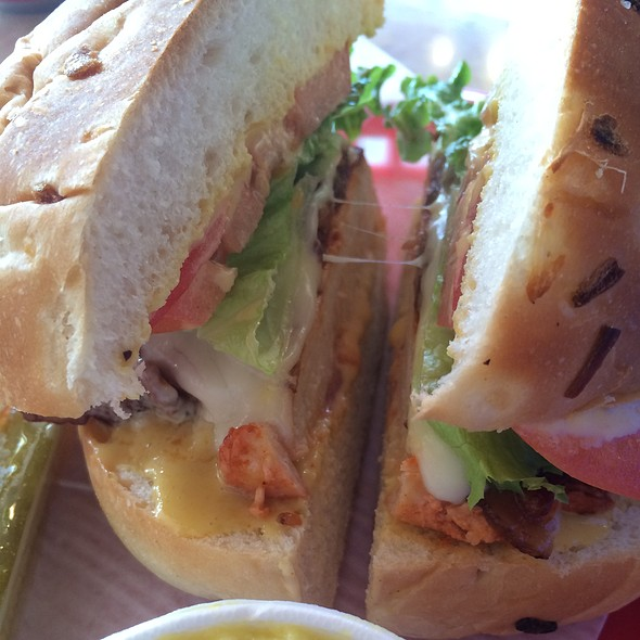 Grilled Chicken & Bacon Sandwich @ Carter & Cooley Company