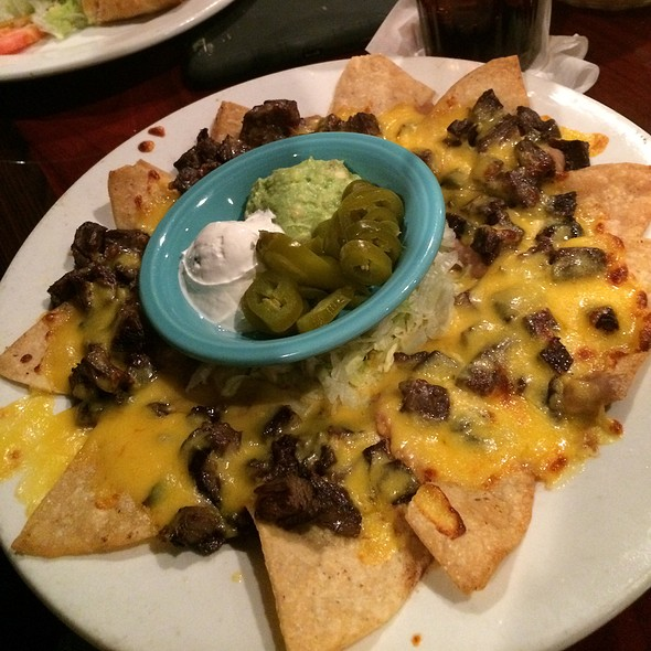 Beef Nachos @ Tony's Mexican Restaurant