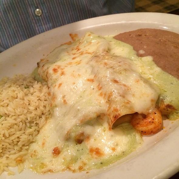 Shrimp Enchiladas @ Tony's Mexican Restaurant